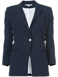veronica beard Taylor lace-up blazer at Farfetch