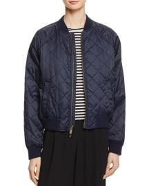vince Quilted Bomber Jacket at Bloomingdales