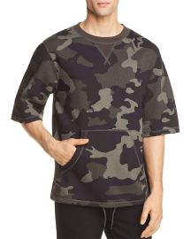 wesc Madison Camouflage Short Sleeve Sweatshirt at Bloomingdales