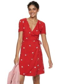wrap dress popsugar at Khols